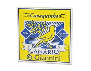 Jogo de corda p/ cavaquinho - Giannini Chenilha