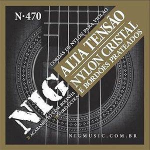 Corda Para Violão Nig Nylon Tensão Alta N-470