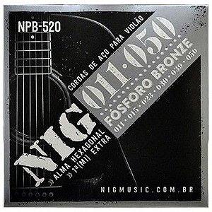 Corda Para Violão de Aço Nig 011 NPB-520