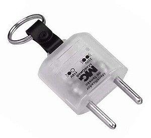 Plug Identificador de Tensão 110V / 220V - Chaveiro