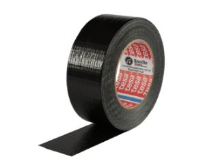 Fita Black Tape Preta 48mm x 50mts - Tesa