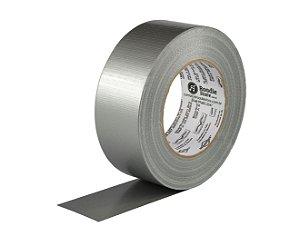 Fita Silver Tape 48mm x 50m Cinza - Brasfort