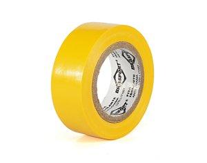 Fita Isolante Amarela 19mm x 10 Mts - Brasfort