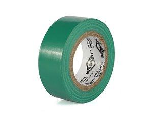 Fita Isolante Verde 19mm x 10 Mts - Brasfort