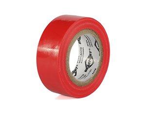 Fita Isolante Vermelha 19mm x 10 Mts - Brasfort