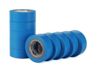 Fita Isolante Azul Turquesa 19mm x 10 Mts - Kit C/10 rolos