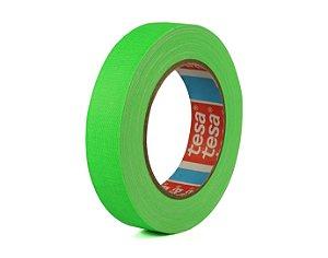 Fita Gaffer Tape Verde Flúor 25mm x 25mts - Tesa