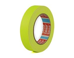 Fita Gaffer Tape Amarelo Flúor 25mm x 25mts - Tesa