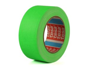 Fita Gaffer Tape Verde Flúor 50mm x 25mts - Tesa