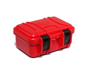 Maleta Plástica Mini - Vermelha