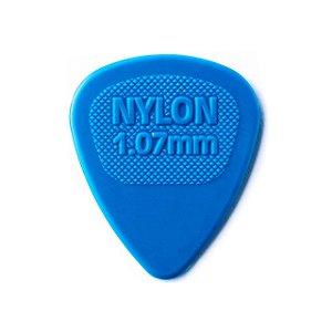 Palheta Nylon Midi 1.07 Azul - Dunlop