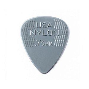 Palheta Nylon Standard Cinza 0.73 - Dunlop