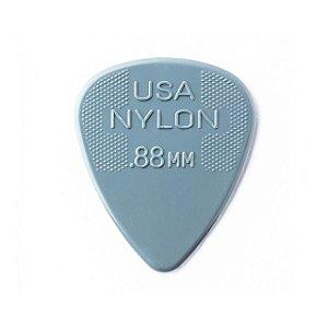 Palheta Nylon Standard Cinza Escuro 0.88 - Dunlop