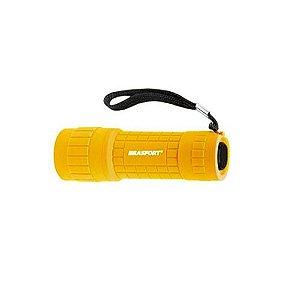 Lanterna Led Mini Color Amarela - Brasfort
