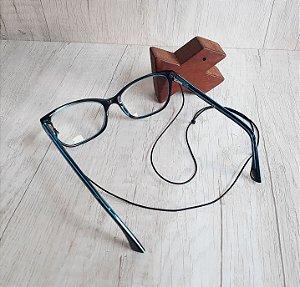 Cordinha para óculos, ajustável, extra fina e macia - feita com microcord