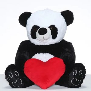 Urso Panda Fofo com Coração W.U - G