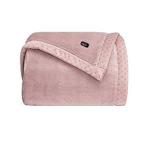 Cobertor Manta Blanket 700 Casal Rosê Parisi Kacyumara
