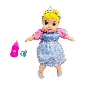 Boneca Bebezão Baby Cinderela 45 cm Mimo