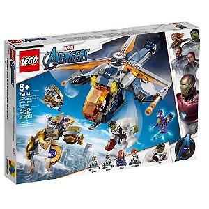 LEGO Avengers Largada de Helicóptero Hulk 76144