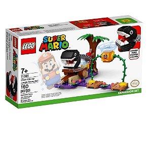 Lego Super Mario Confronto Na Selva Com Chomp Chomp Expansão