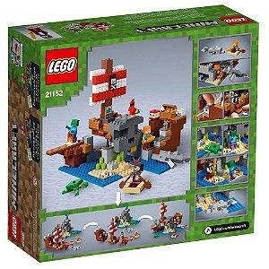LEGO Minecraft  A aventura do navio pirata 21152
