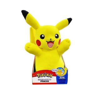 Pokemon Pikachu de Pelucia c/ Som e Luz - Sunny