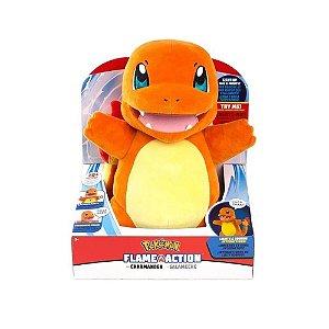 Pelúcia Pokemon Charmander c/ Som e Luz - Sunny
