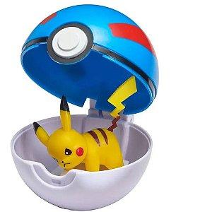 Pokemon PIKACHU Pokebola Clip'n'go - Sunny
