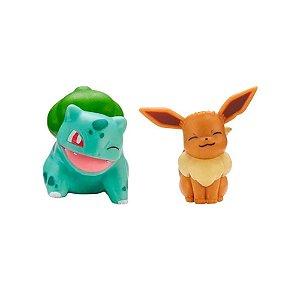 Pokemon Eevee e Bulbasaur Figuras de Ação Wave Sunny