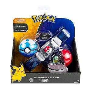 Pokemon Charmander Cinto Porta Pokebolas - Sunny