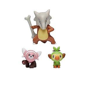 Pokemon Pack Maroak + Grookey + Stufful  Sunny