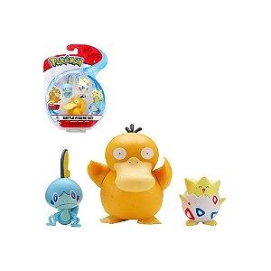 Pokemon Pack PSYDUCK - SOBLE - TOGEPI Sunny