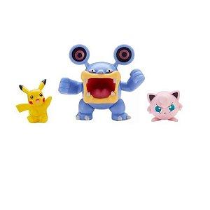 Pokemon Pack Loudred + Pikachu + Jigglypuff Sunny