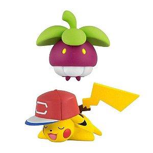 Pokemon Bounseet vs Pikachu Figuras de Ação - Sunny