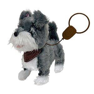 Cachorrinho Schnauzer Passeio Controle Play Full Pets Toyng
