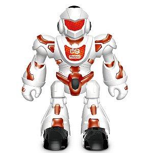 Super Robô Mega Mech Com Som - Luz e Controle  - Toyng