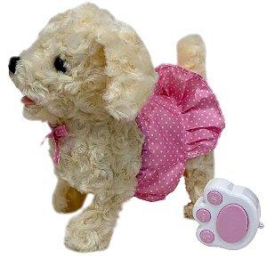 Cachorrinho Poodle Passeio Controle Play Full Pets Toyng