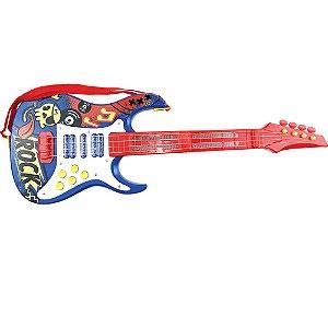 Guitarra Elétrica Infantil Show Azul -  Toyng