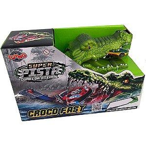 Super Pista Corrida Animal Croco Fast -  Toyng