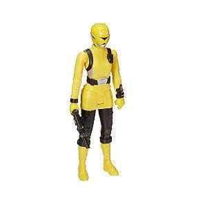 Boneco Power Rangers Amarela Hasbro E6202