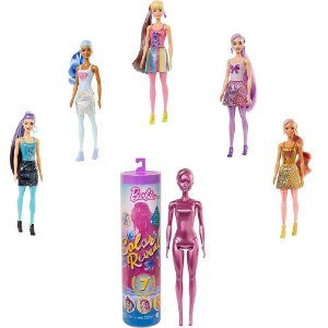 Barbie Fashionista Color Reveal Glitter Mattel