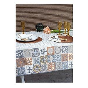 Toalha de Mesa Limpa Fácil Ceramic 1,58 x 1,58 cm Kacyumara