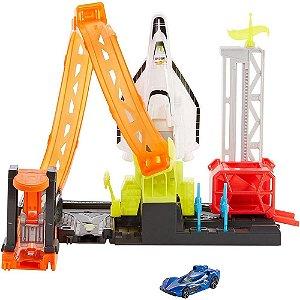 Pista City Foguete Blast-OFF Super Hot Wheels - Mattel