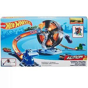 Pista Hot Wheels Action Competiçao Giratoria - Mattel