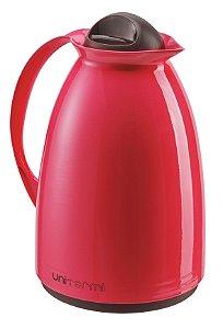 Garrafa Térmica Florença 0,65L - Vermelha - Unitermi