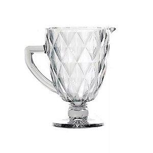 Jarra Diamond Vidro Clear Transparente 1 Litro