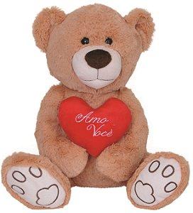 Pelúcia Urso Amor Lovely