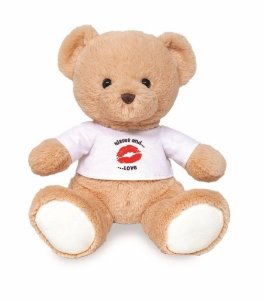 Pelúcia Urso Kiss E Love Buba Toys