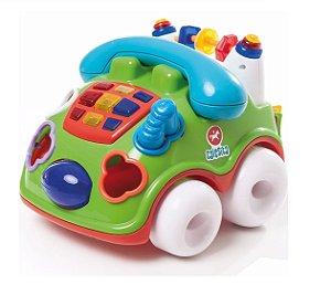 Brinquedo Pedagógico Fala Fone Calesita