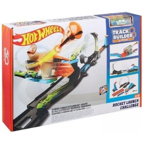 Pista Desafio Lançamento Do Foguete Hot Wheels Flk60 Mattel